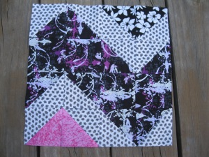 This is the original quilt block I made from the Craftsy.com class